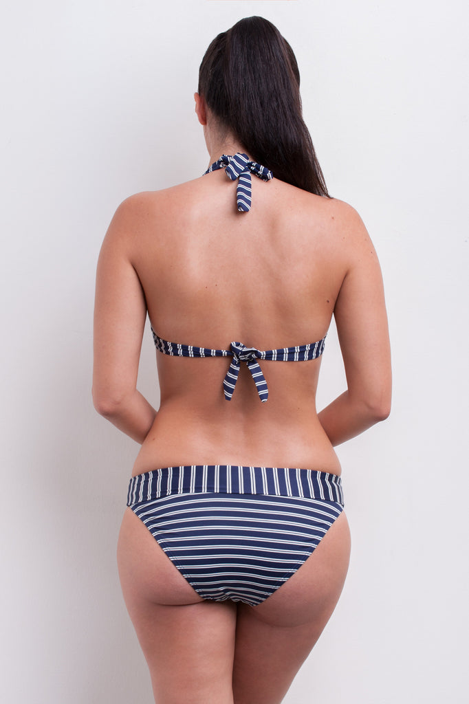 Halter Bikini Top - Nautical Blues Collection