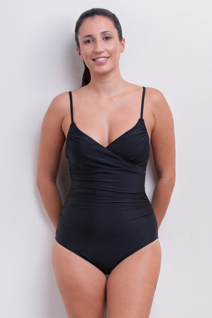 Wrap One Piece Swimsuit - Essentials Collection