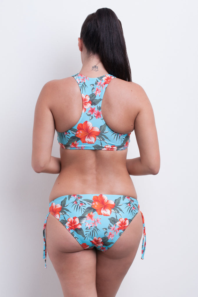 High Neck Tank Bikini Top - Cool Tropics Collection