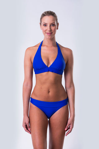 High Neck Tank Bikini Top - Essentials Collection