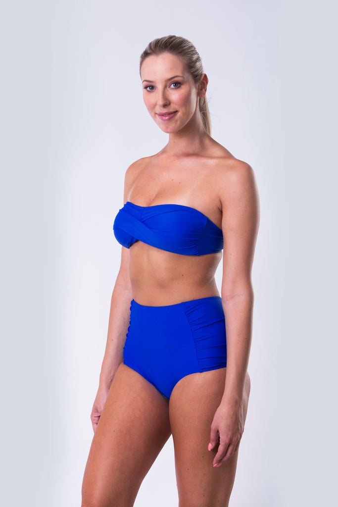 High Waist Bikini Bottom - Essentials Collection