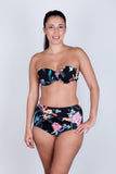 Bandeau Bikini Top - Midnight Tropics Collection