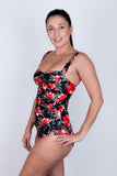 Twist Front Tankini - Hot House Collection