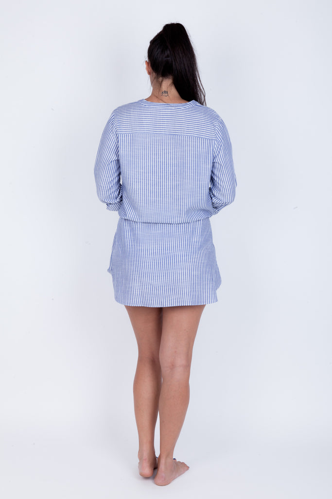 Stripe Shirt Dress - Essentials Collection