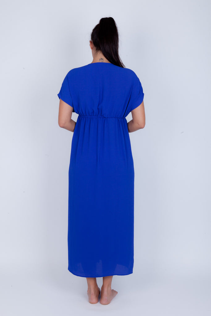 Tie front Maxi Cover-up - Essentials Collection