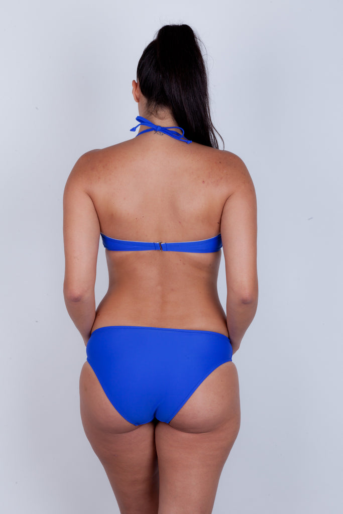 Twist front Bandeau Bikini Top - Essentials Collection