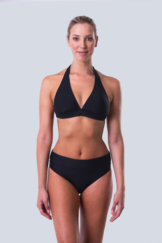Twist Front One Piece Swimsuit - Essentials Collection