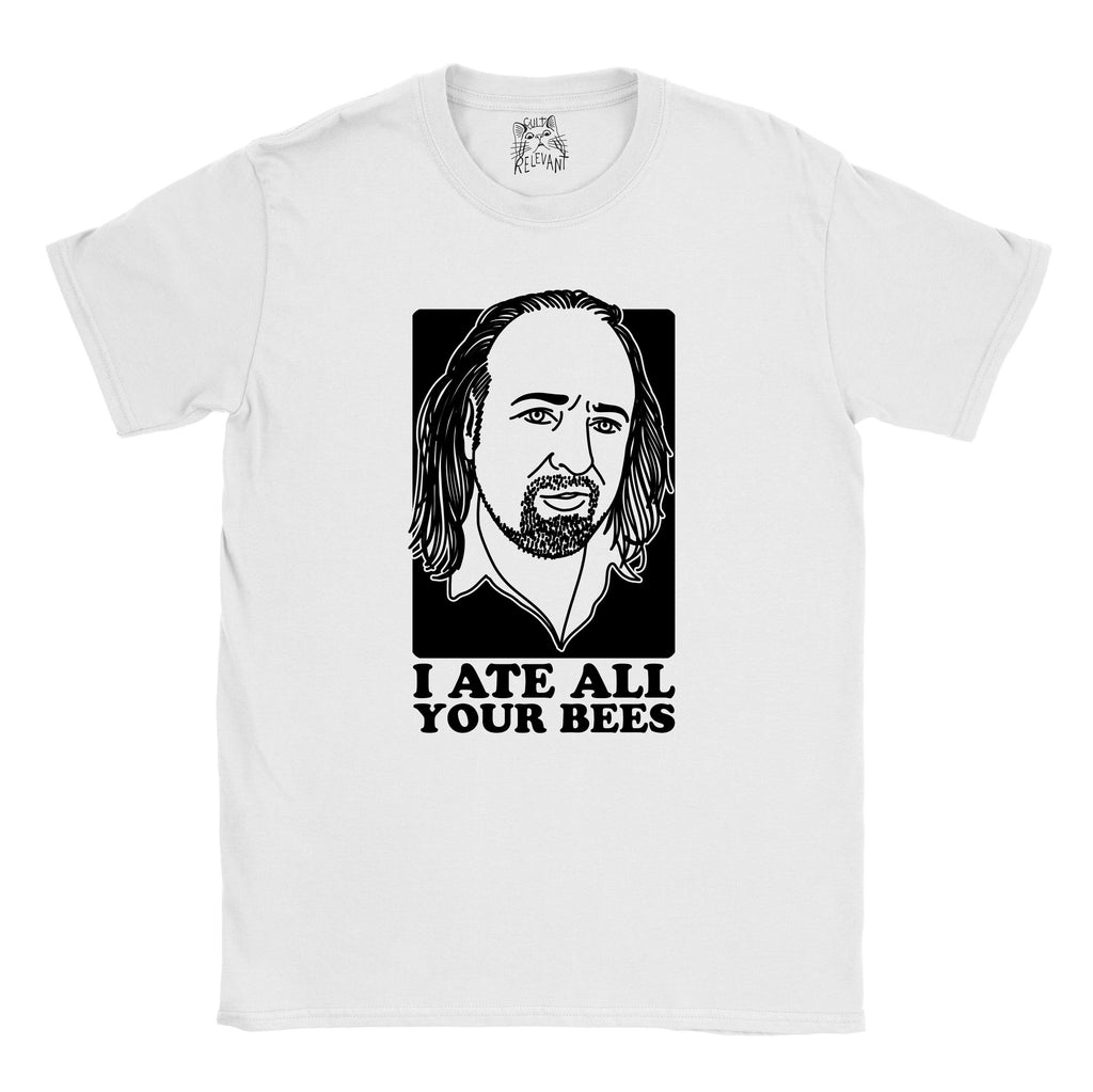 Black Books - Manny - I Ate All Your Bees T-shirt - Jiggle Apparel