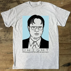 The Office USA - D.W.I.G.H.T T-Shirt - Jiggle Apparel
