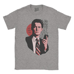 Twin Peaks - I Only Have Time For Coffee Dale Cooper T-shirt - Jiggle Apparel