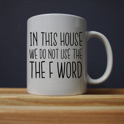 League of Gentlemen - The F Word Mug - Jiggle Apparel