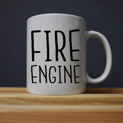 League of Gentlemen - Mickey - Fire Engine Mug - Jiggle Apparel