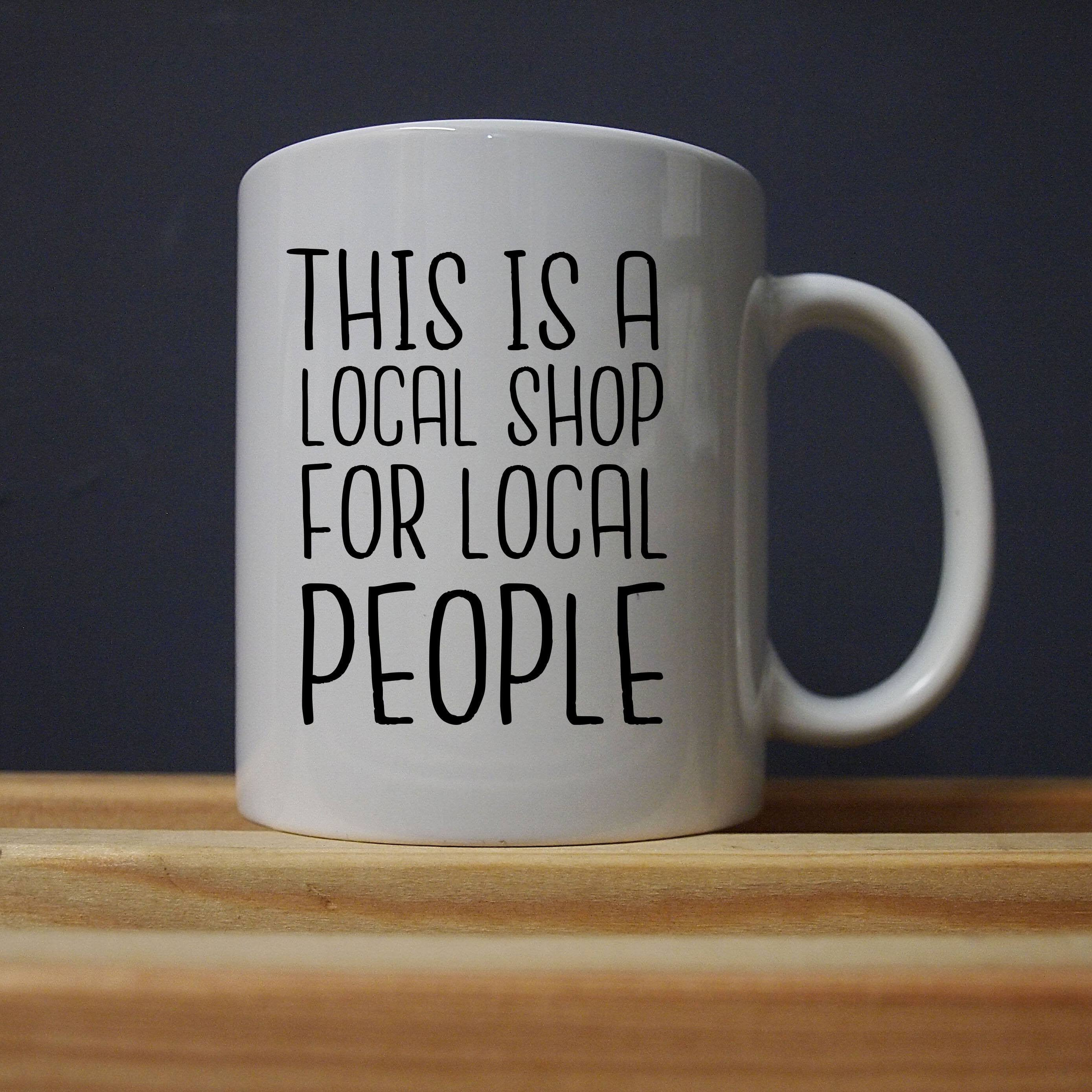 League of Gentlemen - Local People Mug - Jiggle Apparel