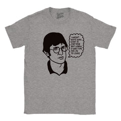 I Wasn't Quite Sure What I'd Just Seen - Louis Theroux T-shirt - Jiggle Apparel