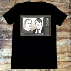 Peep Show - Mark and Jez Tv - Jiggle Apparel