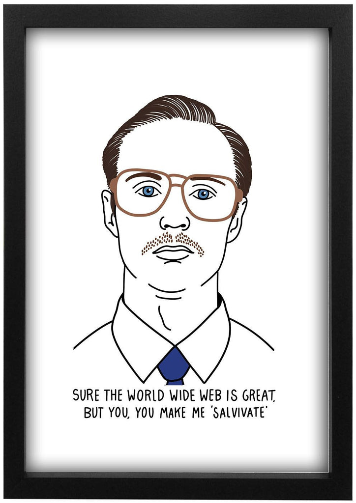 Napoleon Dynamite - Kip Sure The World Wide Web Is Great Print - Jiggle Apparel