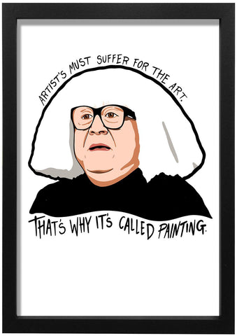 Its Always Sunny In Philadelphia - Thats Why its Called Painting Art Print - Jiggle Apparel