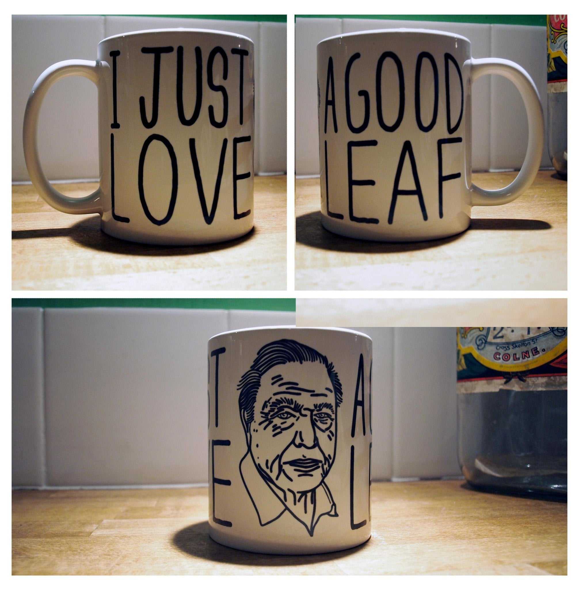 Attenborough Mug - Jiggle Apparel