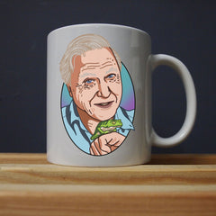 David Attenborough - Sir David Forever Mug - Jiggle Apparel