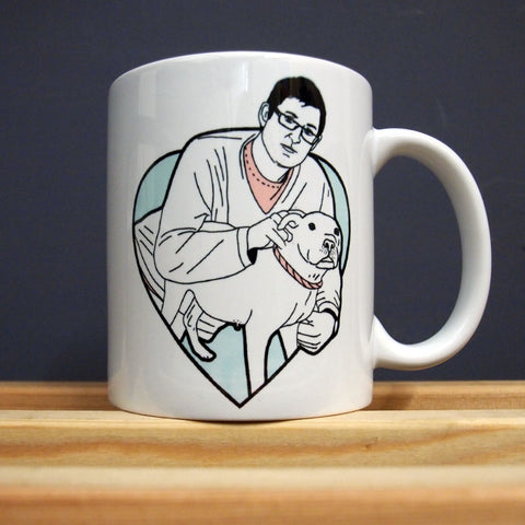Louis Theroux - I Would like to see your Bedroom - Mug - Jiggle Apparel