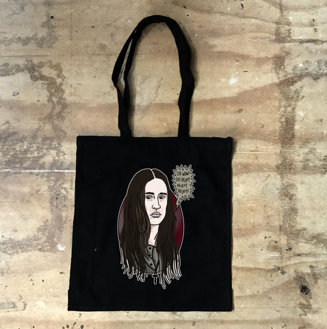 Young Ones - Neil - Heavy - Tote Black - Jiggle Apparel