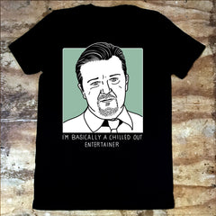 The Office David Brent Entertainer T-Shirt - Jiggle Apparel
