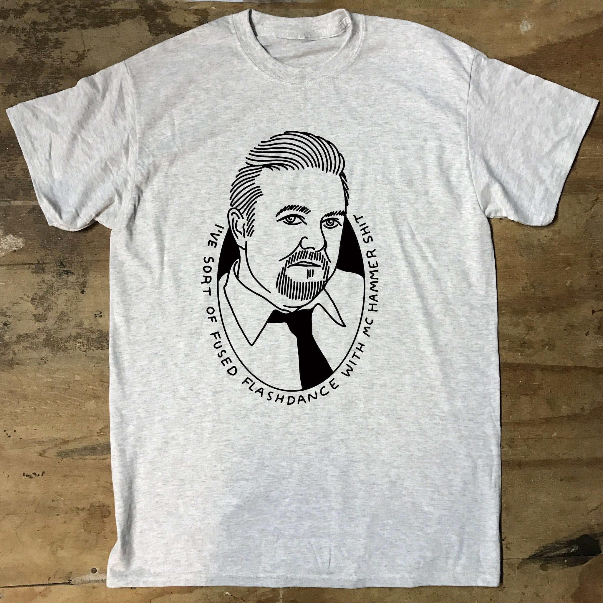 The Office David Brent MC Hammer Shit T-Shirt - Jiggle Apparel