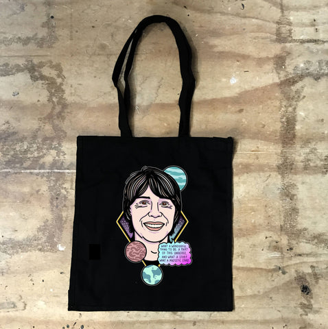Brian Cox - What A Wonderful Thing To Be A Part Of Black Tote - Jiggle Apparel