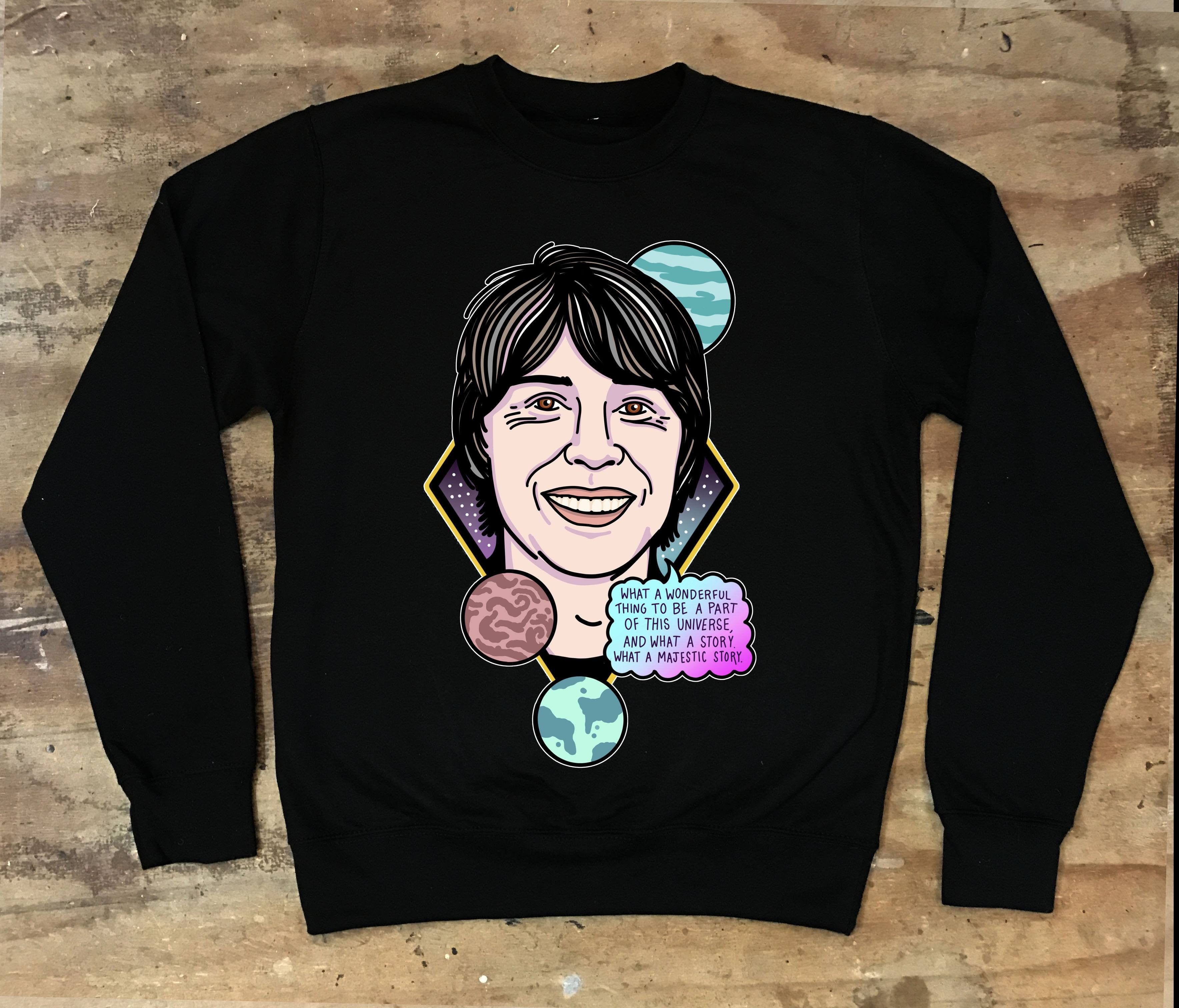 Brian Cox - What A Wonderful Thing To Be A Part Of Crew Neck Sweater - Jiggle Apparel