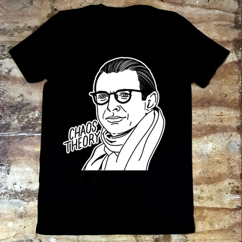 Jeff Goldblum - Chaos Theory - Jiggle Apparel