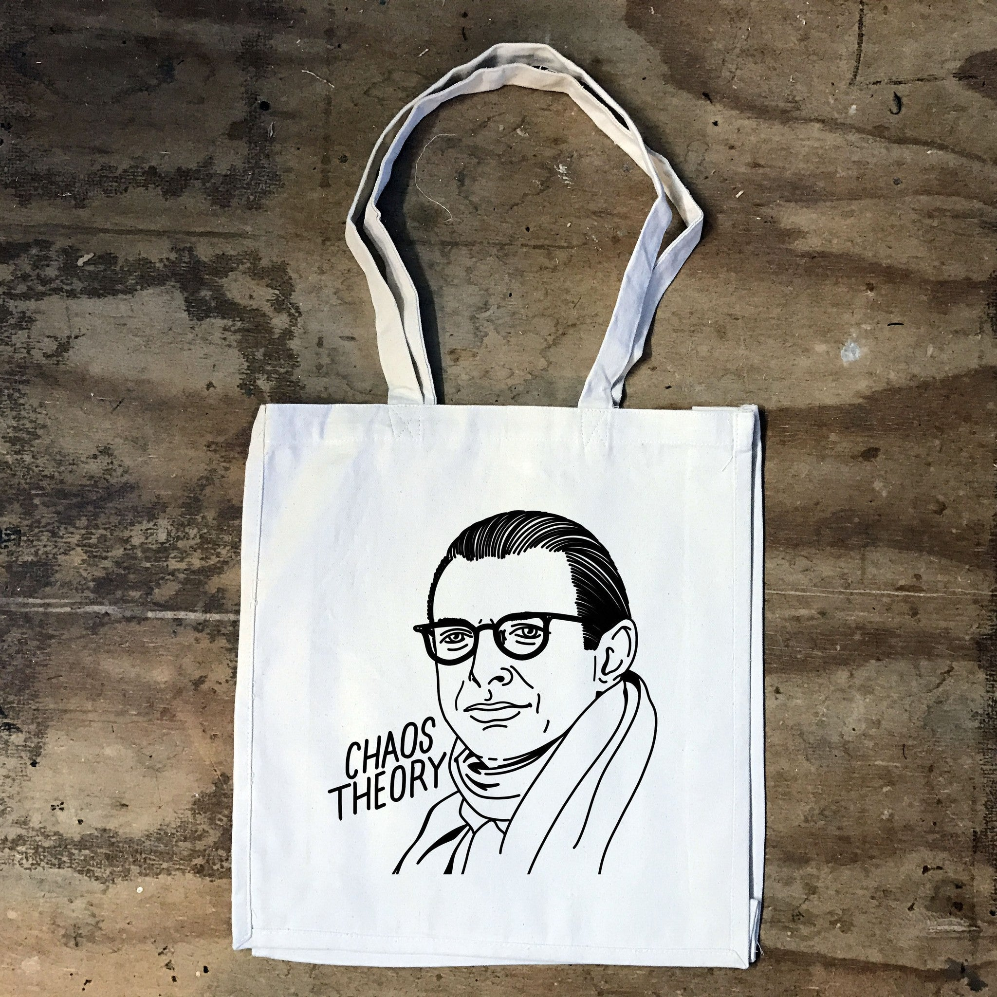 Jeff Goldblum - Chaos Theory - Tote Bag - Jiggle Apparel