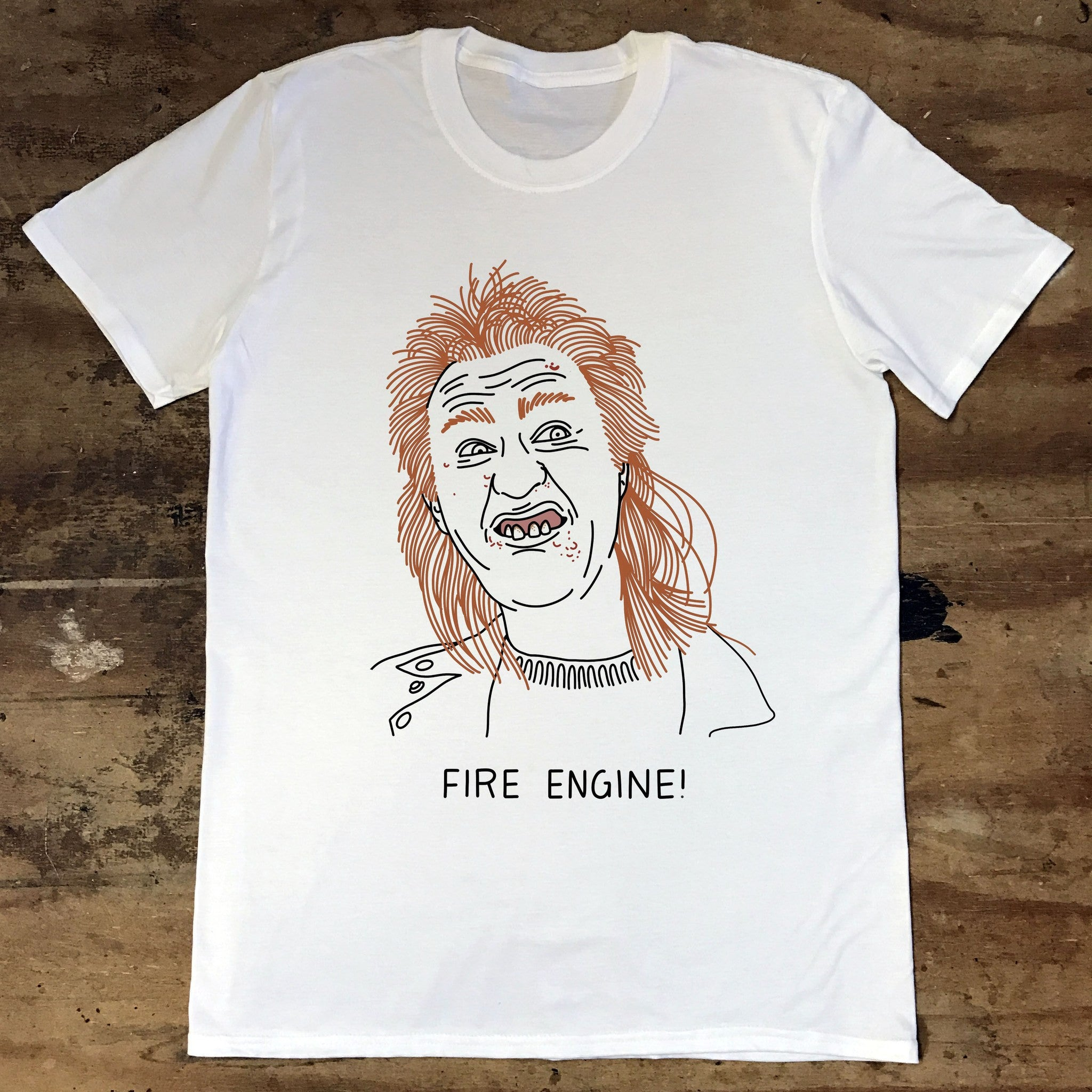 League of Gentlemen - Mickey - Fire Engine - Jiggle Apparel
