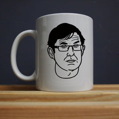 Louis Theroux - It was close to midnight Mug - Jiggle Apparel