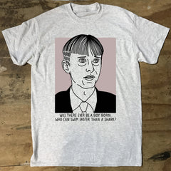 The Office Gareth Keenan Sharks T-Shirt - Jiggle Apparel
