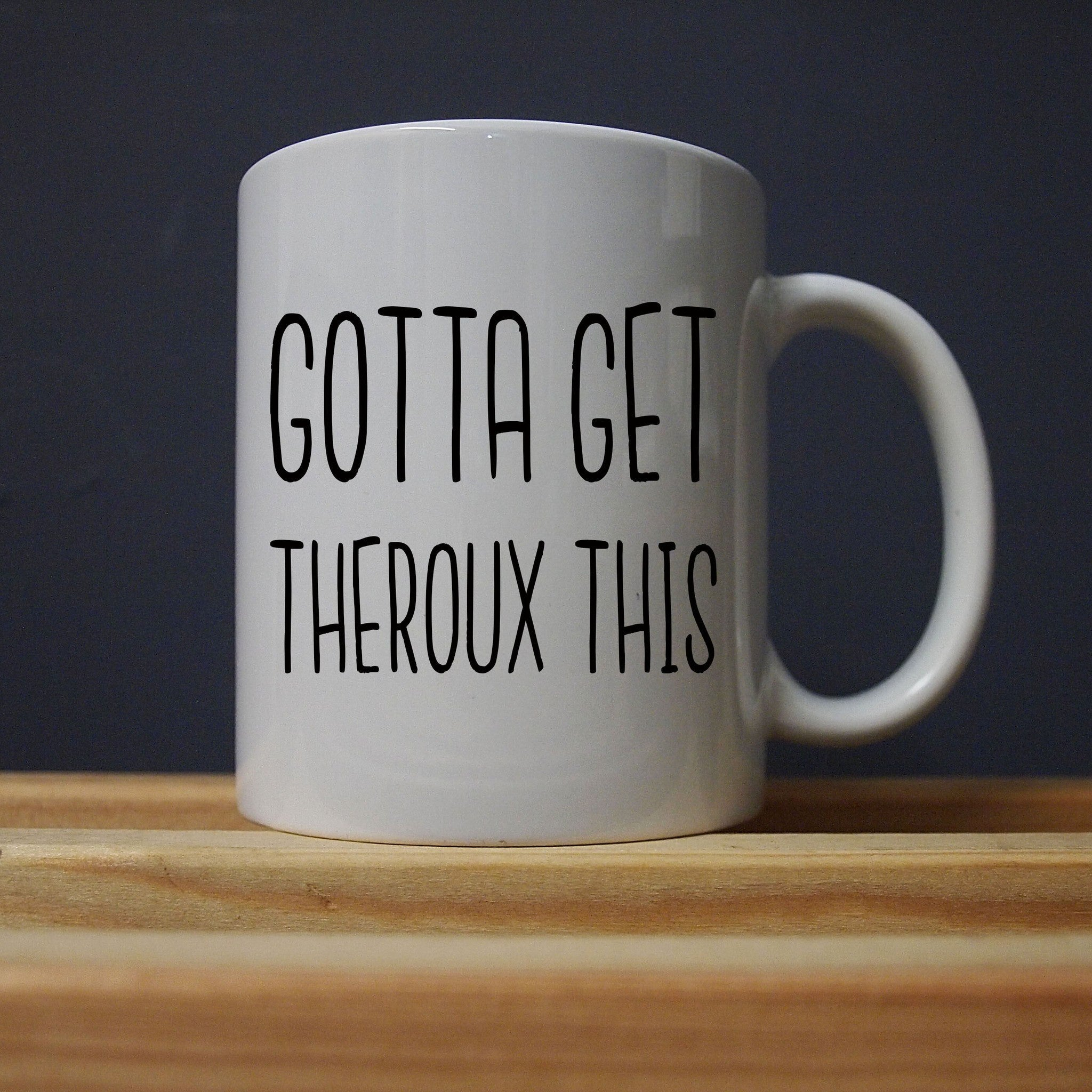 Louis Theroux - Gotta Get Theroux This - Mug - Jiggle Apparel