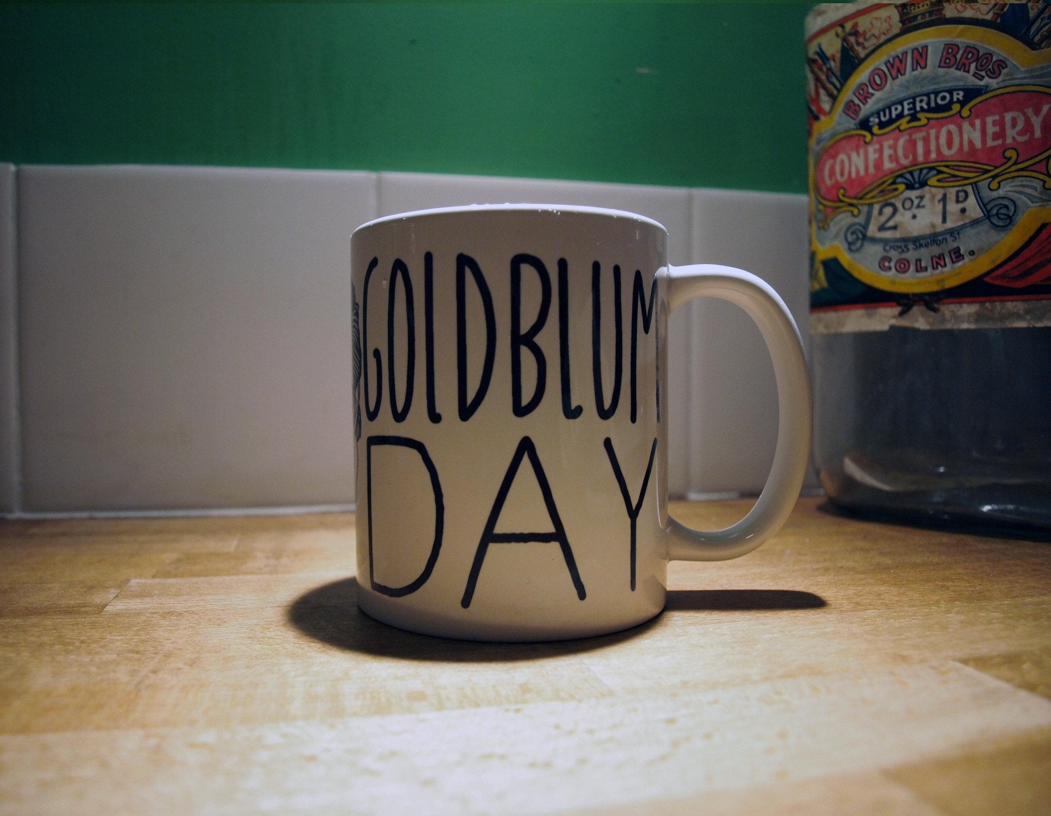 Goldblum Mug - Jiggle Apparel