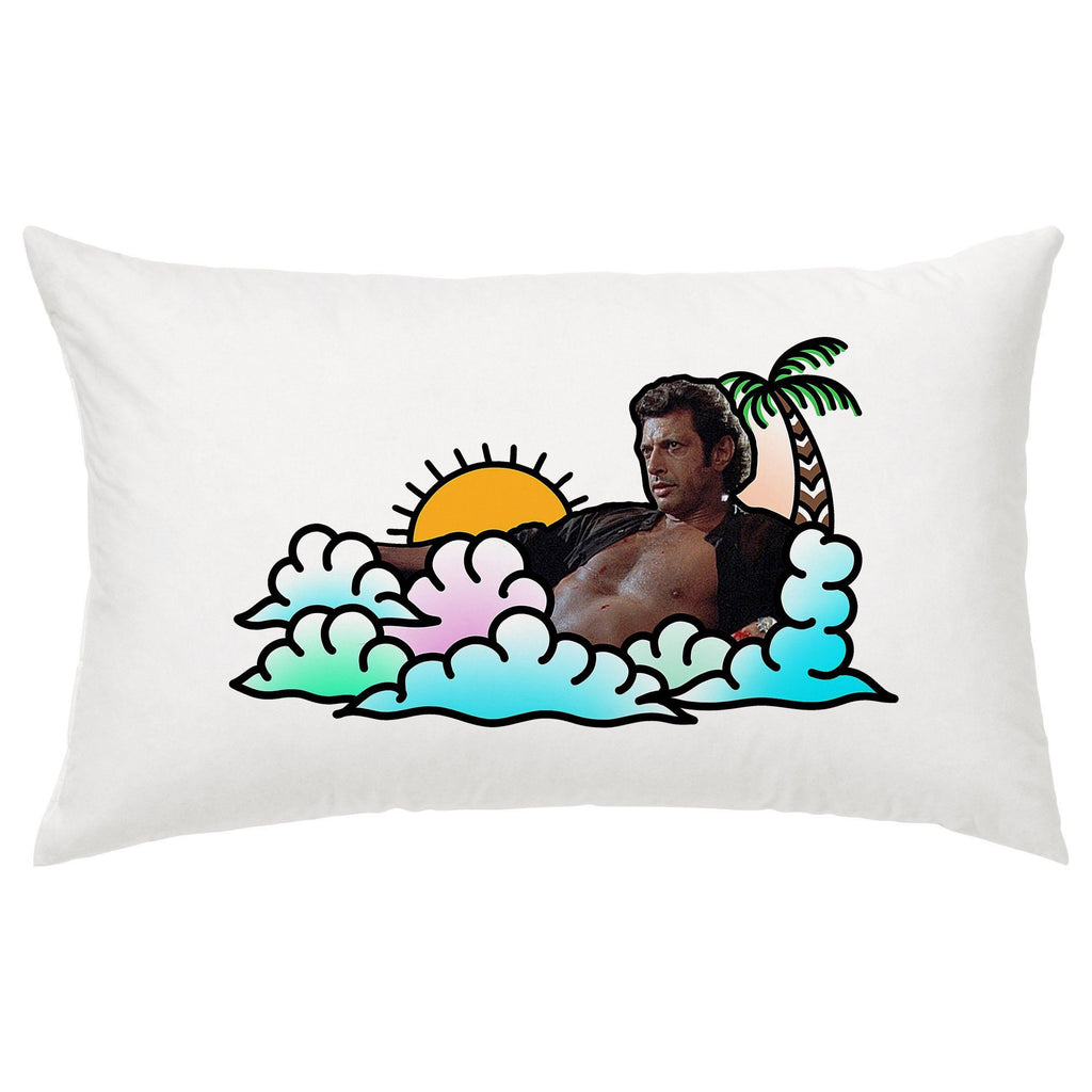 Jeff Goldblum - Every Night Pillow Case - Jiggle Apparel