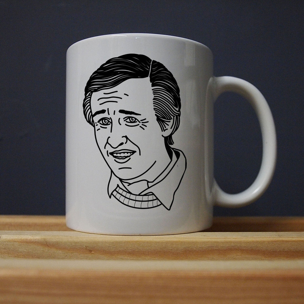 Alan Partridge - Hate the Public Mug - Jiggle Apparel