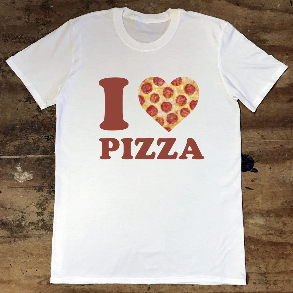 I heart Pizza - Jiggle Apparel