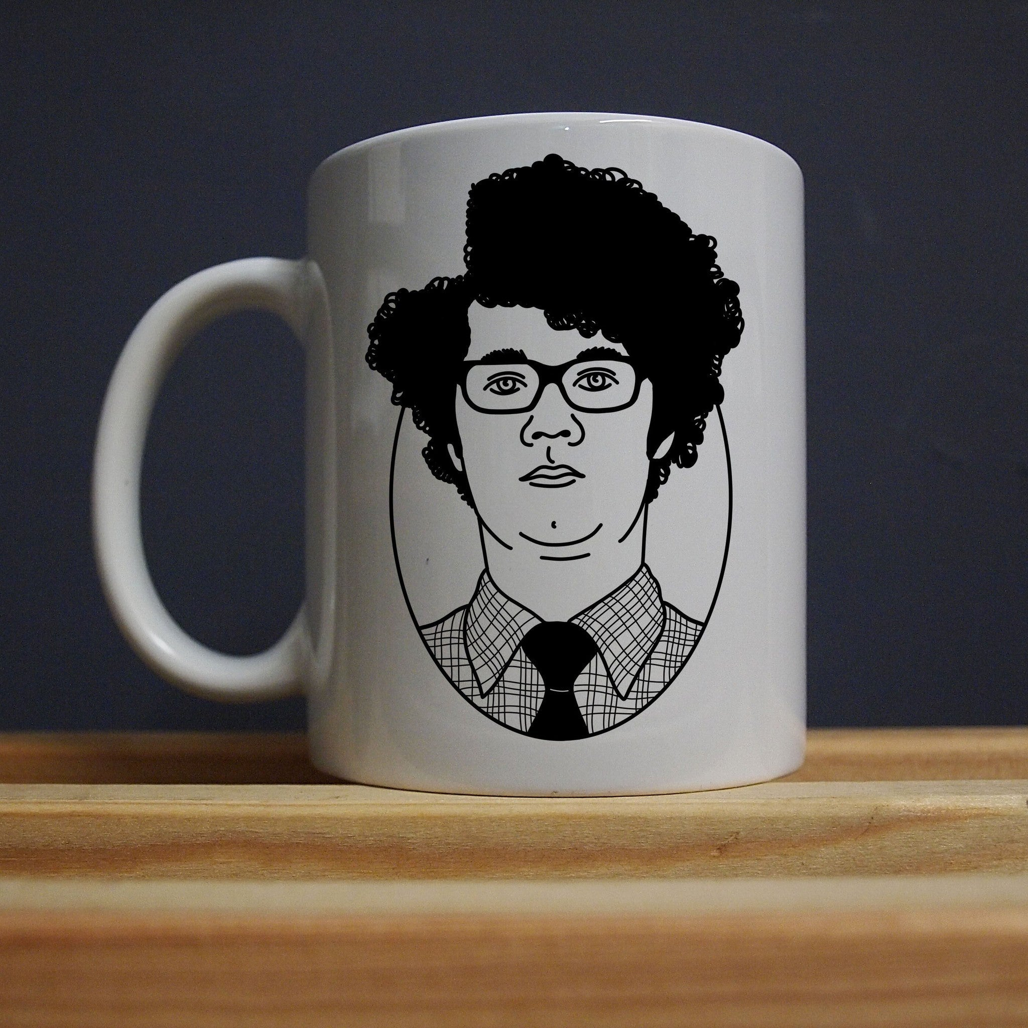 IT Crowd - Roy - I Came Here to Drink Milk Mug - Jiggle Apparel