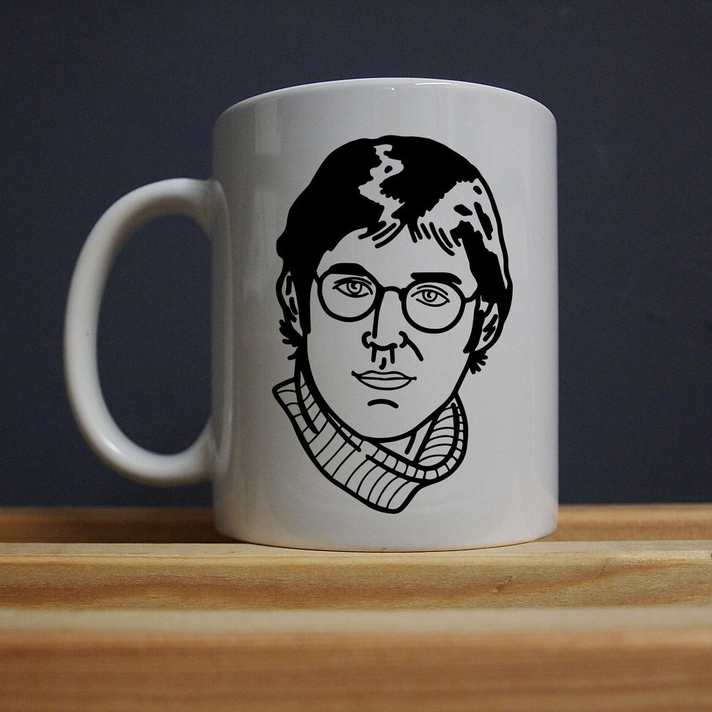 Louis Theroux - My Money Doesn't Jiggle Mug - Jiggle Apparel