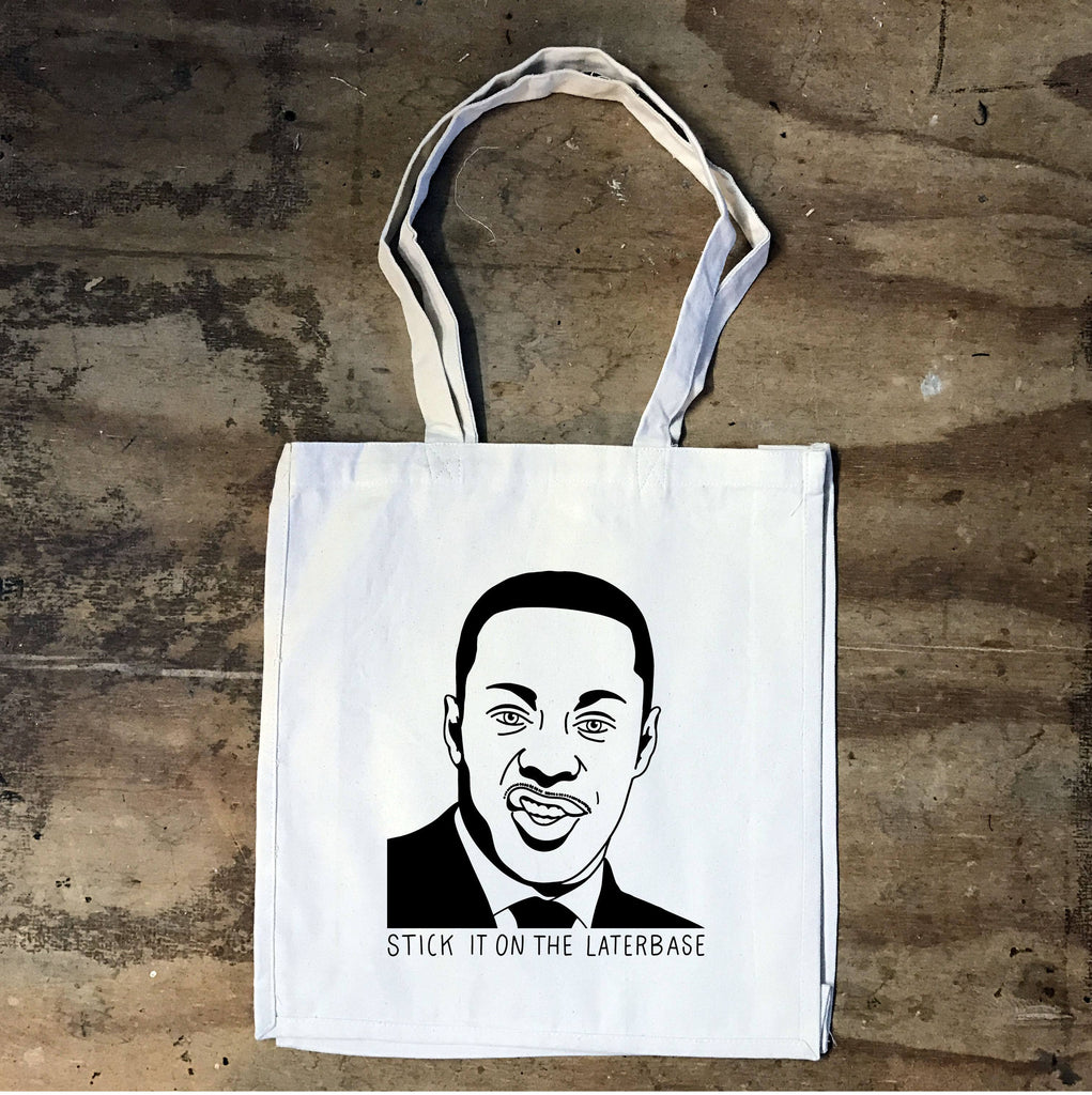 Peep Show - Johnson - Stick it on the laterbase - Tote Bag - Jiggle Apparel