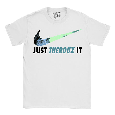 Louis Theroux - Just Theroux It T-shirt - Jiggle Apparel