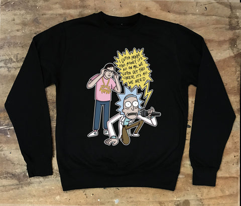 Louis Theroux and Rick Sanchez - Jiggle Rap Sweater - Jiggle Apparel