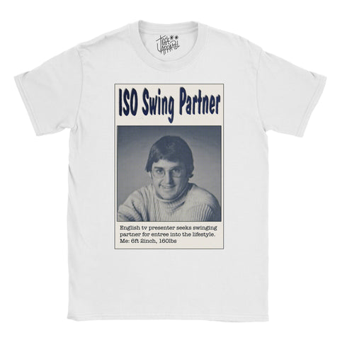 Louis Theroux T-shirt - Swinger - Jiggle Apparel