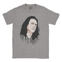 The Room - Tommy - Oh Hi Mark T-shirt - Jiggle Apparel