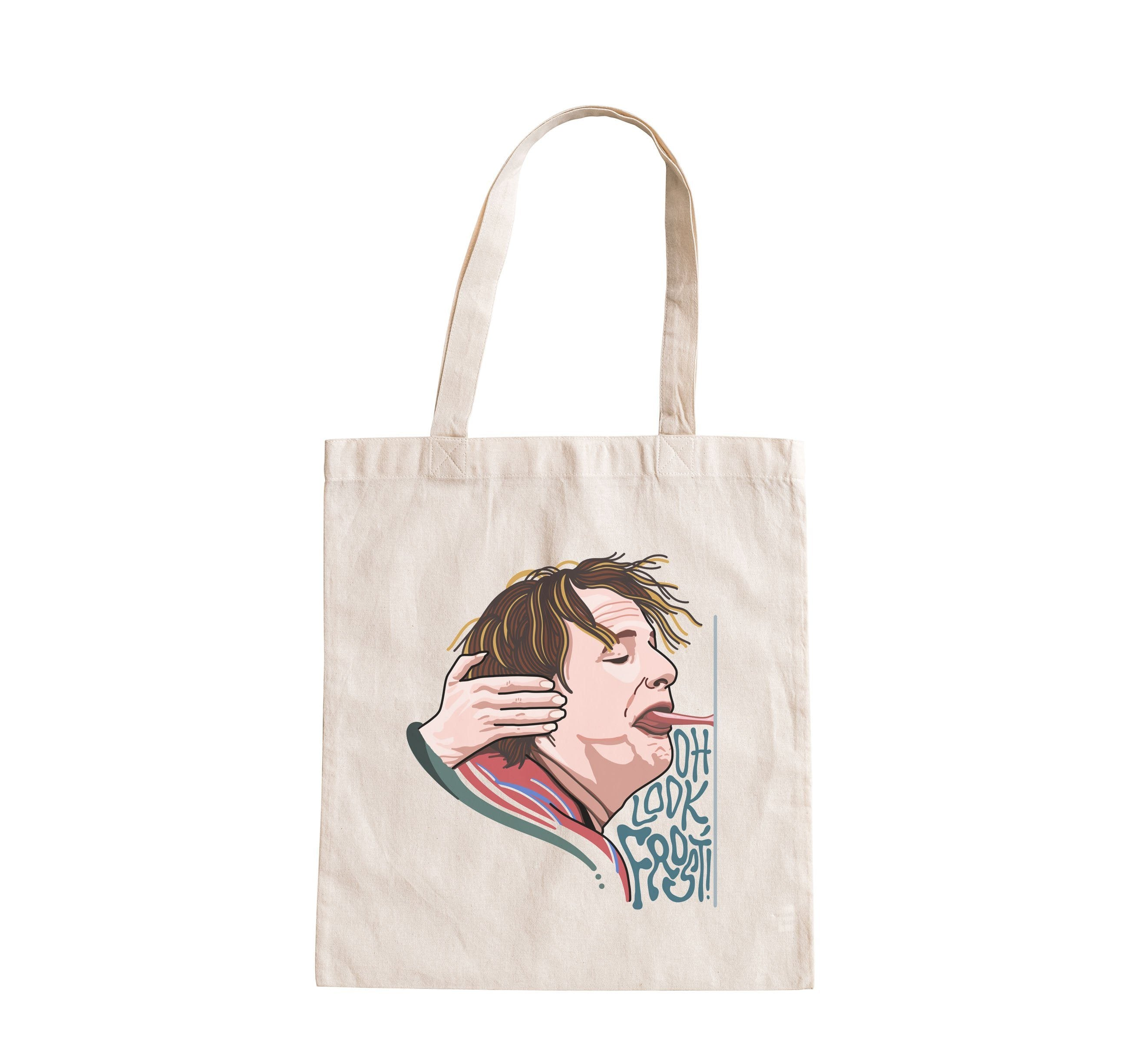 Dumb and Dumber - Harry Dunne - Oh, Look Frost - Tote Bag - Jiggle Apparel