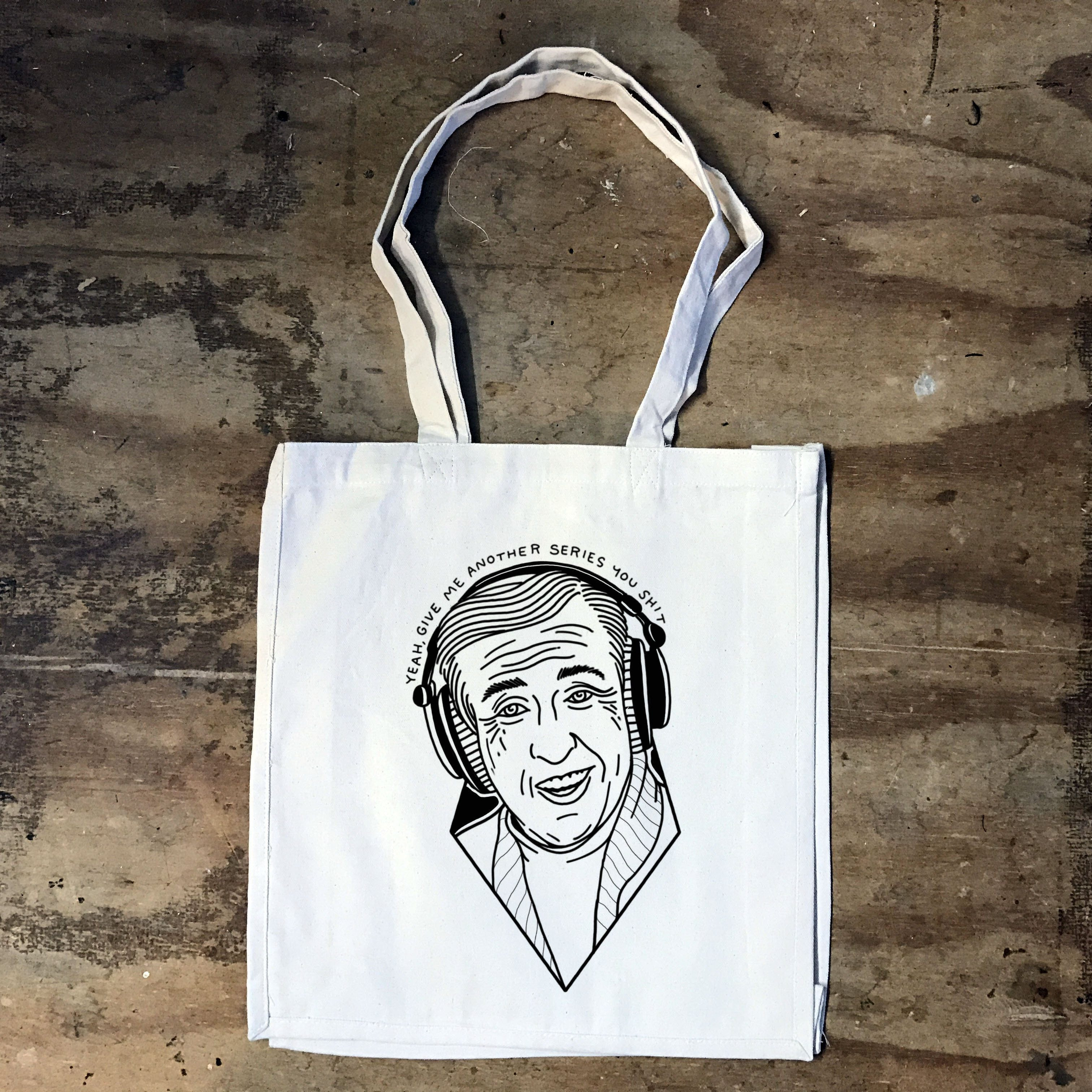 Alan Partridge - Give me another Series - Tote Bag - Jiggle Apparel