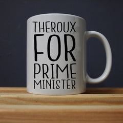 Louis Theroux - Louis For Prime Minister Mug - Jiggle Apparel