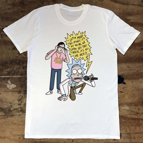 Louis Theroux - Rick n Morty - Jiggle Apparel